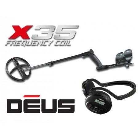 Détecteur de métaux professionnel XP DEUS 28 WS4 X35