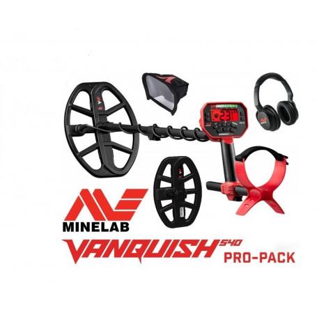 Détecteur Minelab Vanquish 540 Pro Pack